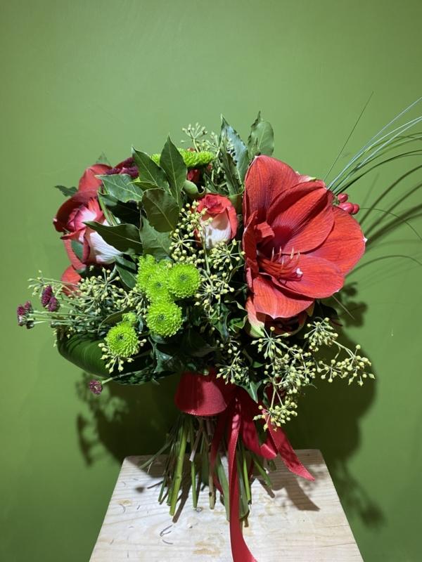 Bouquet rosso San Carlino