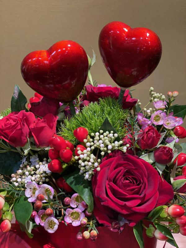 cuori rossi san valentino 2021