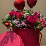 san valentino cuori rossi